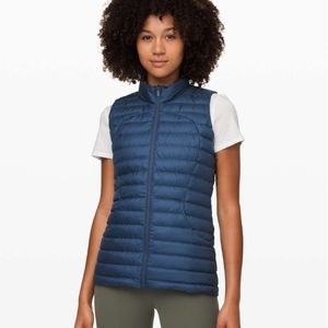 Lululemon Pack It Down Vest  Code Blue